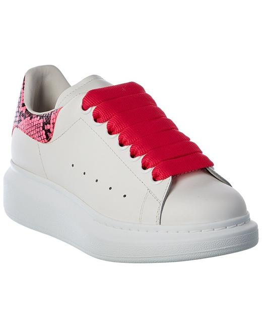 Item - Oversized Leather Sneaker 553770 Whx9m 9924 Athletic