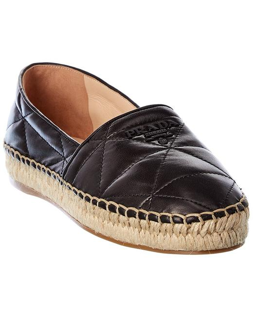 Item - Quilted Leather 1s067m 79n F0002 Espadrilles
