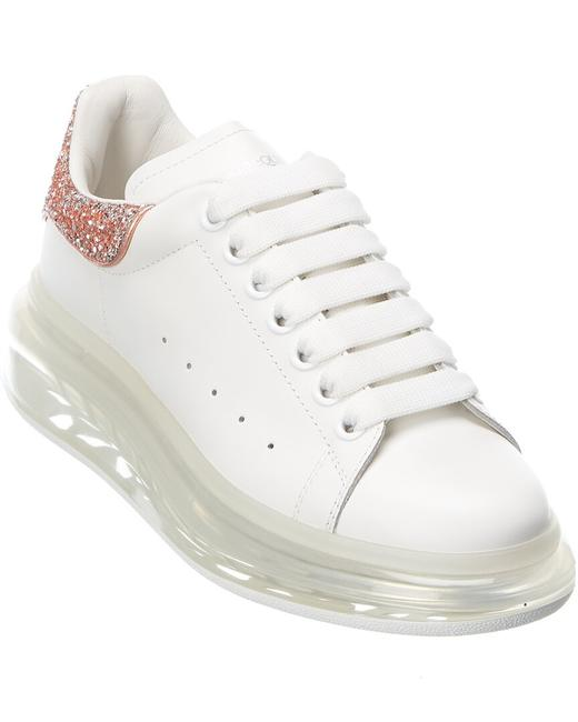 Item - Oversized Leather Sneaker 621718 Whz41 9928 Athletic