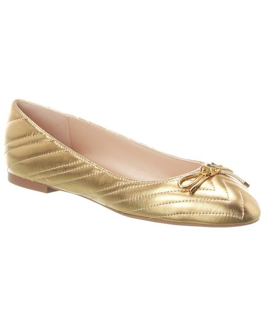 Item - Quilted Leather Hillia Flats