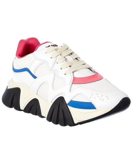 Item - Barocco Leather Sneaker Dst113g D16t Vdbf Athletic