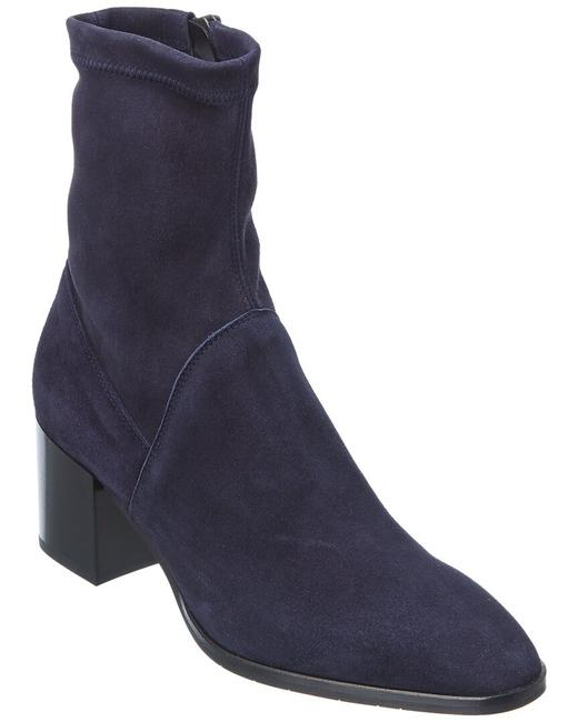 Item - Tia Stretch Weatherproof Suede 34l3219-nvy Boots/Booties