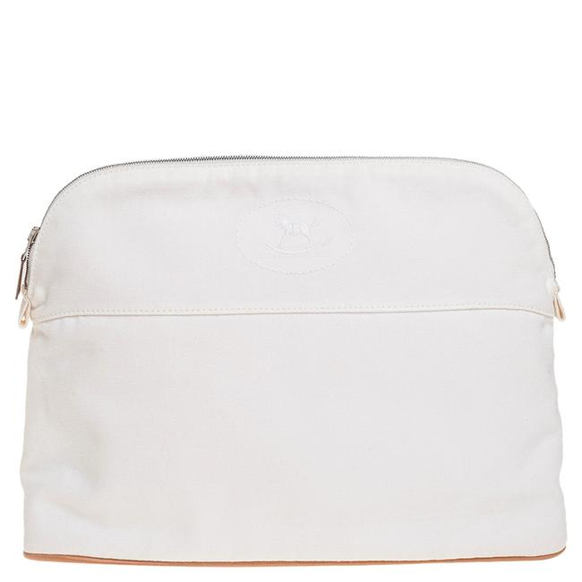Item - Cosmetic Pouch Bolide White Canvas 25 Tech Accessory