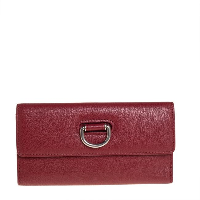 Item - Highbury Red Leather Continental Wallet