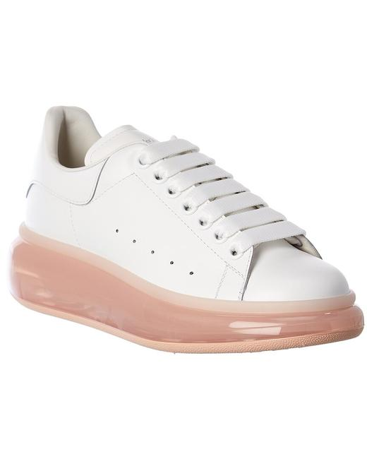 Item - Oversized Leather Sneaker 611698 Whyby 9053 Athletic