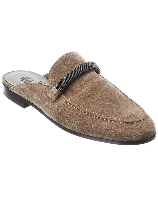 Item - Suede Mzsfc1373 Cy911 Mules/Slides