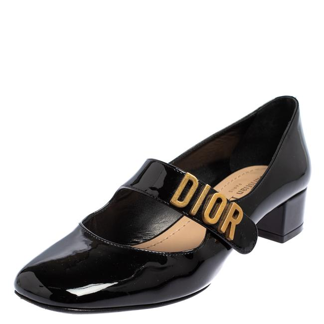 Item - Black Patent Leather Baby D Mary Jane Size 35.5 Pumps