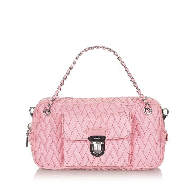 Item - Quilted Tessuto Chain Satchel