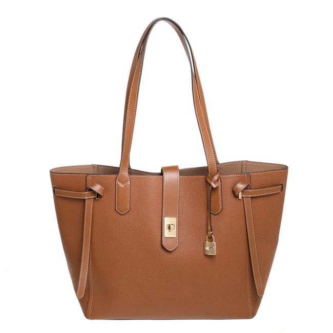 Item - Brown Leather Large Cassie Tote