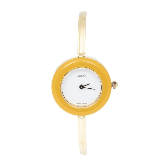 Item - 11/12.2 Bezel In Yellow Stainless Steel Without Nickel Watch