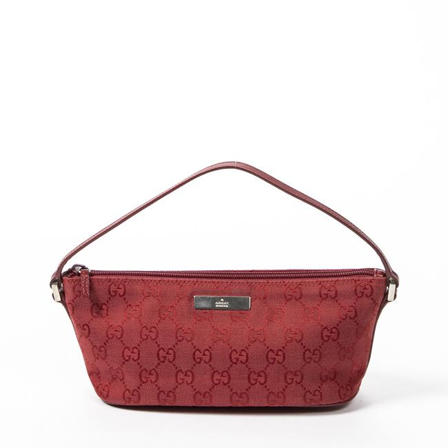 Item - Pouch In Red Canvas Accessory