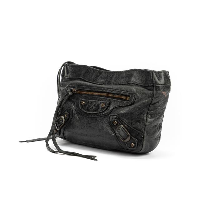 Item - City Pouch In Black Calf Leather Accessory