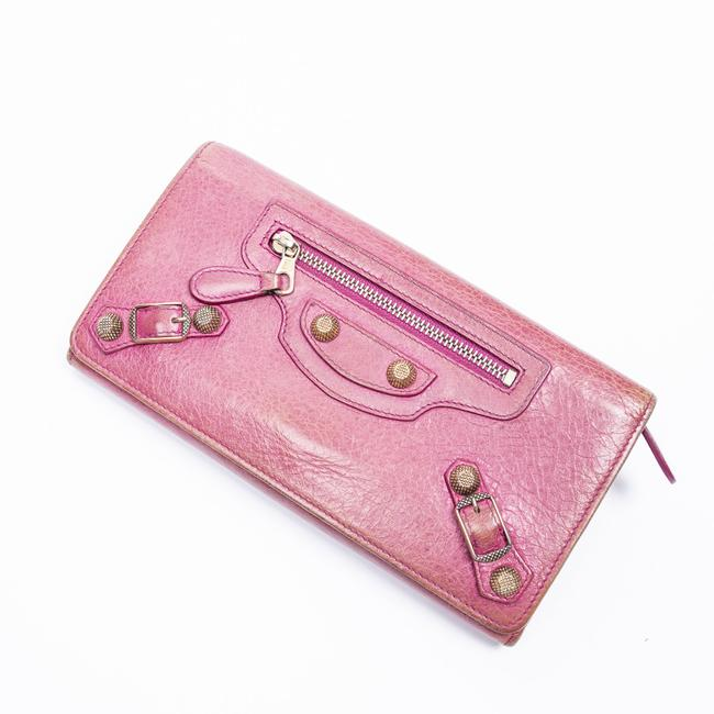 Item - Giant 12 Bifold In Pink Calf Leather Wallet