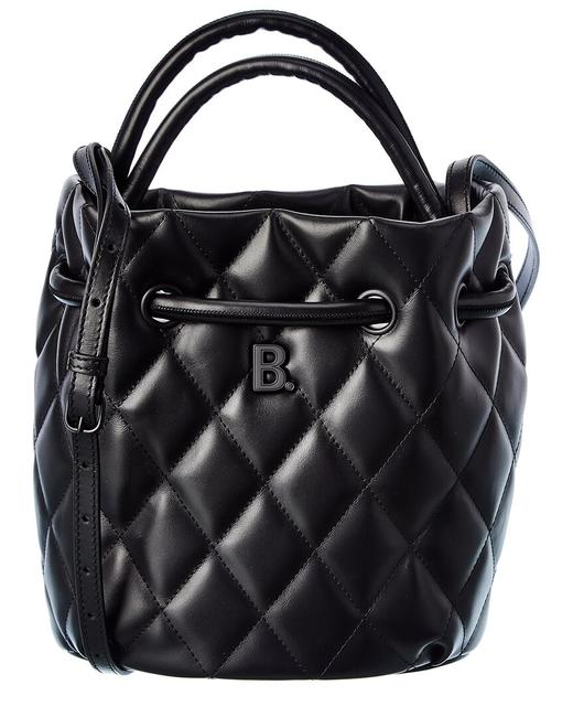 Item - Bucket Bag Small Quilted Leather 600327 1wn17 Satchel