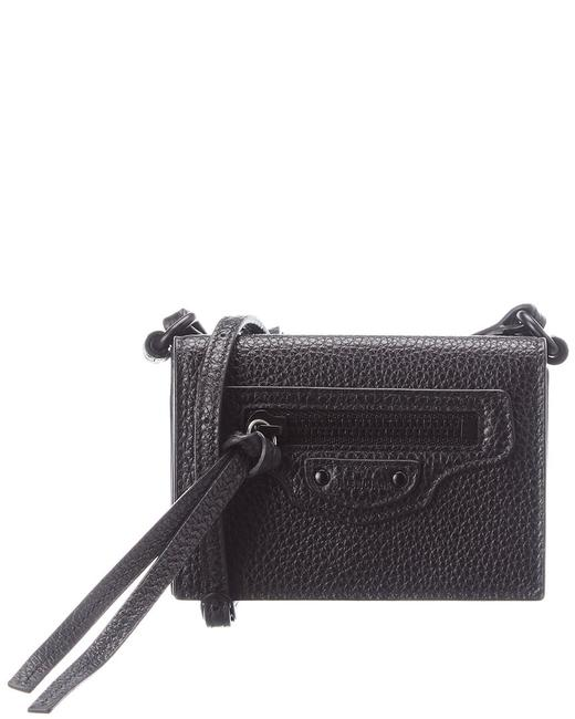 Item - Neo Classic Mini Croc-embossed Leather Wallet 644480 15y07 Accessory