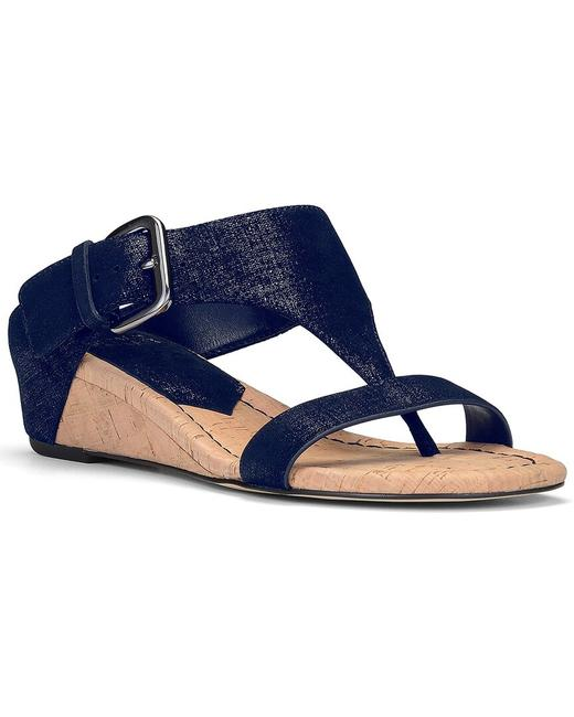 Item - Dylan Leather Wedge Dylan-60 Sandals