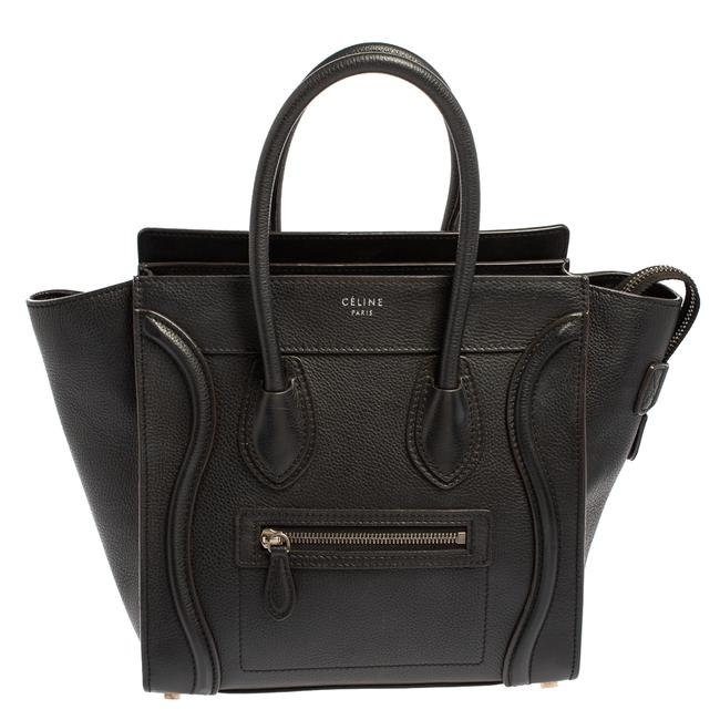 Item - Luggage Leather Micro Tote