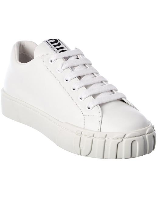 Item - Leather Sneaker 5e187d 3aqn F0009 Athletic
