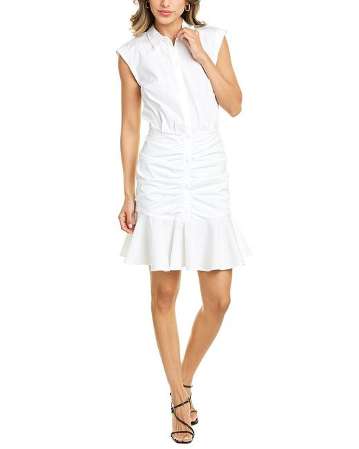 Item - Bell Ruched Shirtdress Corescp2305 Button-down Top
