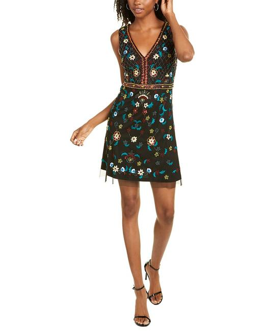 Item - Bead Embellished A-line Mn1e206001 Night Out Dress