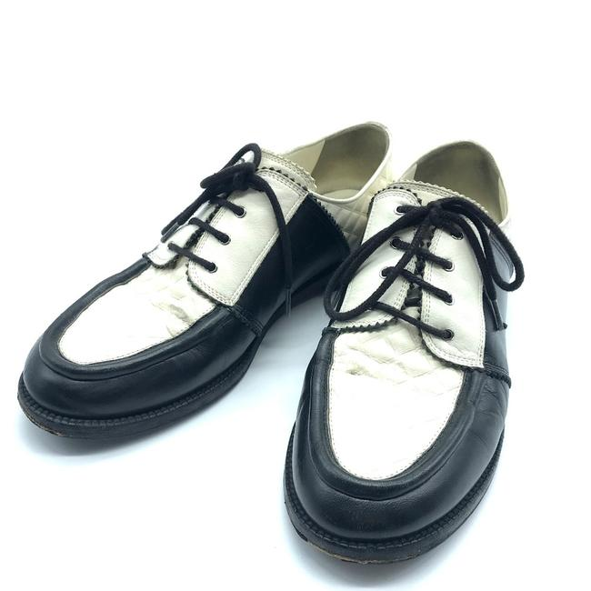 Item - Bicolor Matelasse 18a Lace Up Loafers Formal