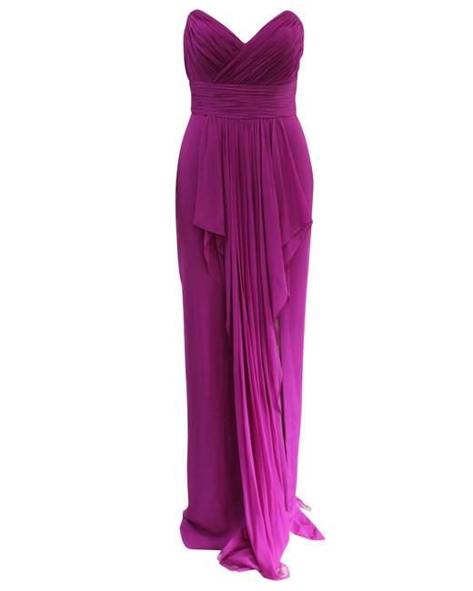 Item - Purple Evening -pre Owned Condition Very Good Formal Dress