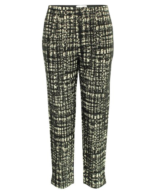 Item - Checked Black and Beige -pre Owned Condition Very Good Pants