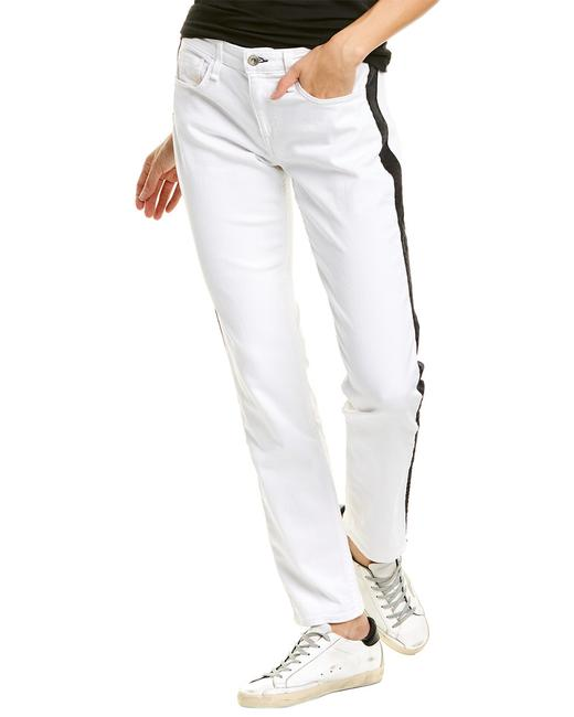 Item - And Dre Off-white Low-rise Slim Wdd20s2643c0ow Boyfriend Cut Jeans