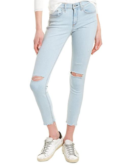 Item - Cate Edgeview Mid-rise Ankle Leg Wdd20p2651k5ed Skinny Jeans