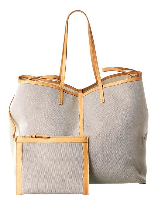 Item - Canvas & Leather 8039079 Tote