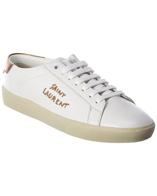 Item - Court Classic Sl/06 Leather Sneaker 611275 00n80 9088 Athletic