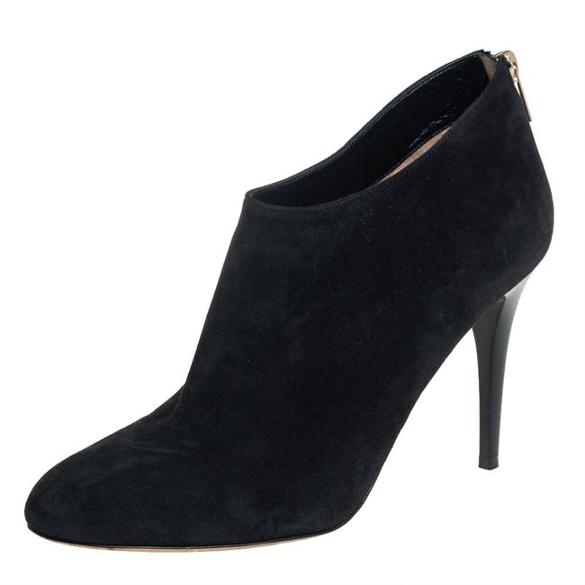 Item - Black Suede Ankle Size 40 Boots/Booties