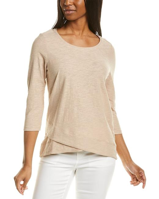 Item - 3/4-length Sleeve T-shirt R7642-40e Sweater/Pullover
