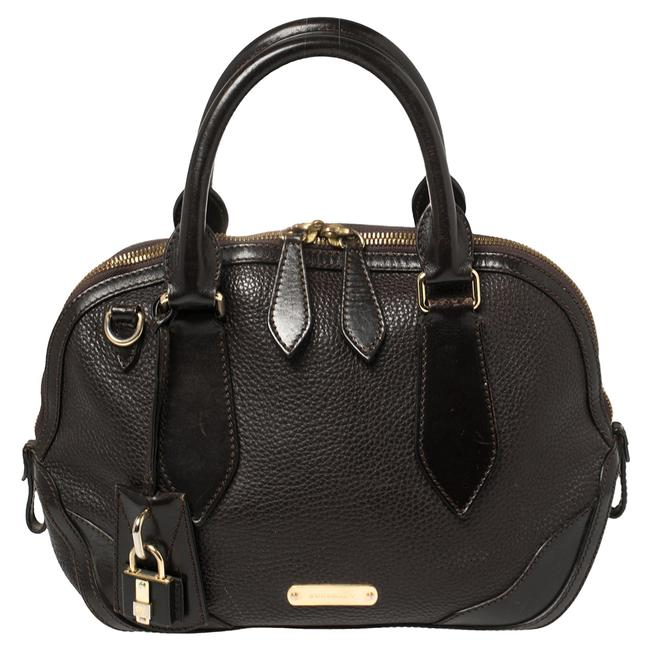 Item - Brown Leather Small Orchard Bowler Bag Satchel