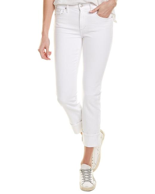 Item - White Straight Crop Gtpwht5249 Capri/Cropped Jeans