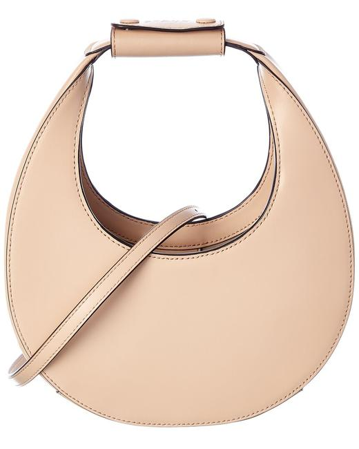 Item - Curved Leather 079244 Dune Clutch