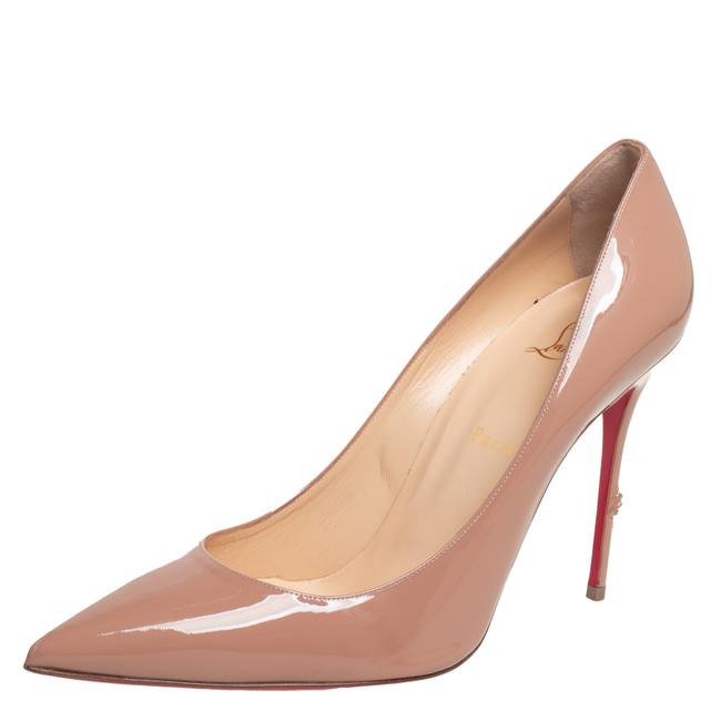 Item - Beige Patent Leather So Kate Size 42 Pumps