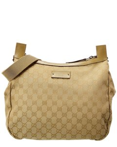 Gucci Pre-owned Canvas Overall Qfb1rc0eib000 Cross Body Bag