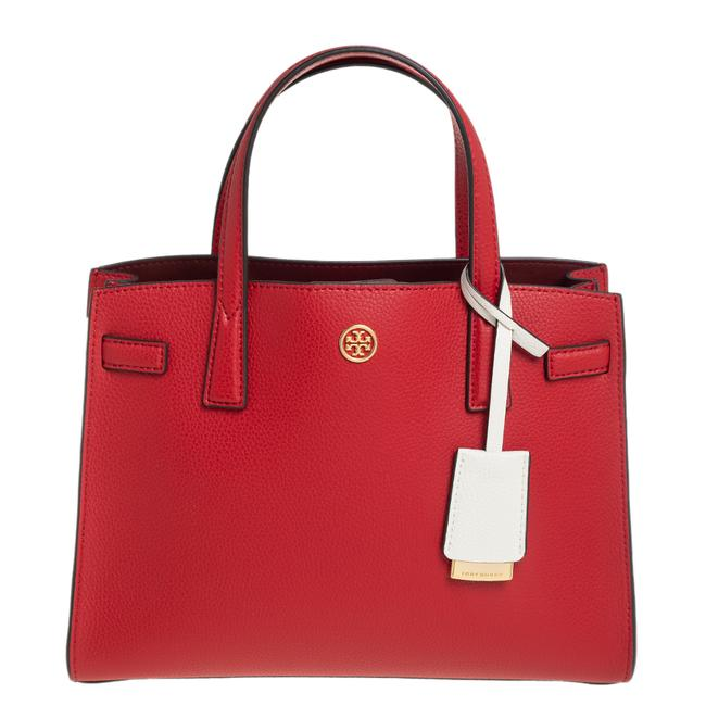 Item - Walker Red Leather Tote