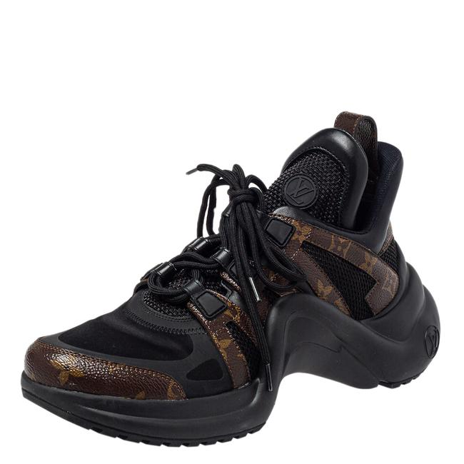 Item - Black/Brown Monogram Canvas and Nylon Archlight Sneakers Size 40 Athletic