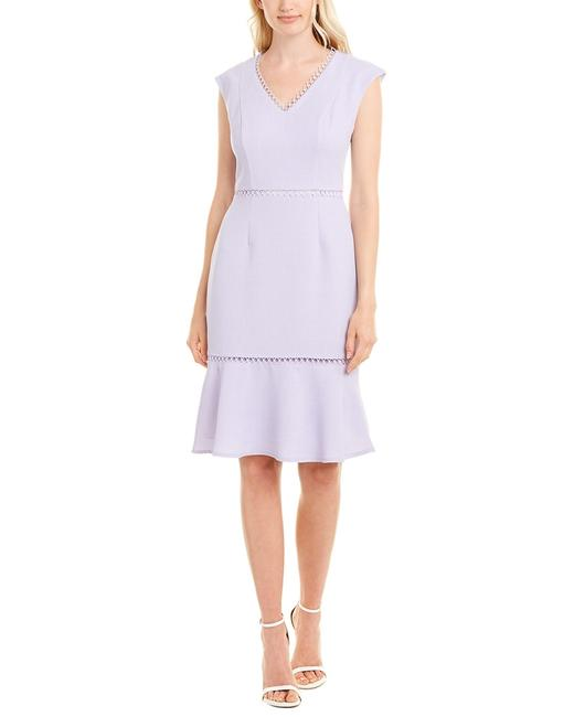 Maggy London Sheath G4434m Short Casual Dress Maggy London Sheath G4434m Short Casual Dress Image 1