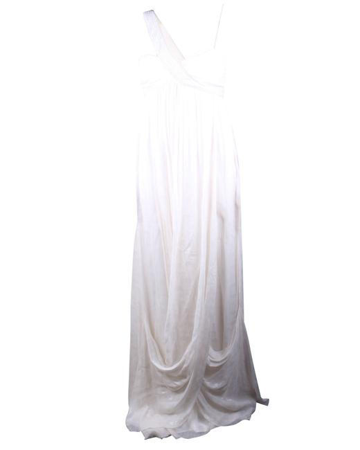 Item - Long Sleeveless Drape -pre Owned Condition Very Formal Dress