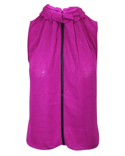 Item - Fuchsia Top -pre Owned Condition Very Good Au6 Blouse