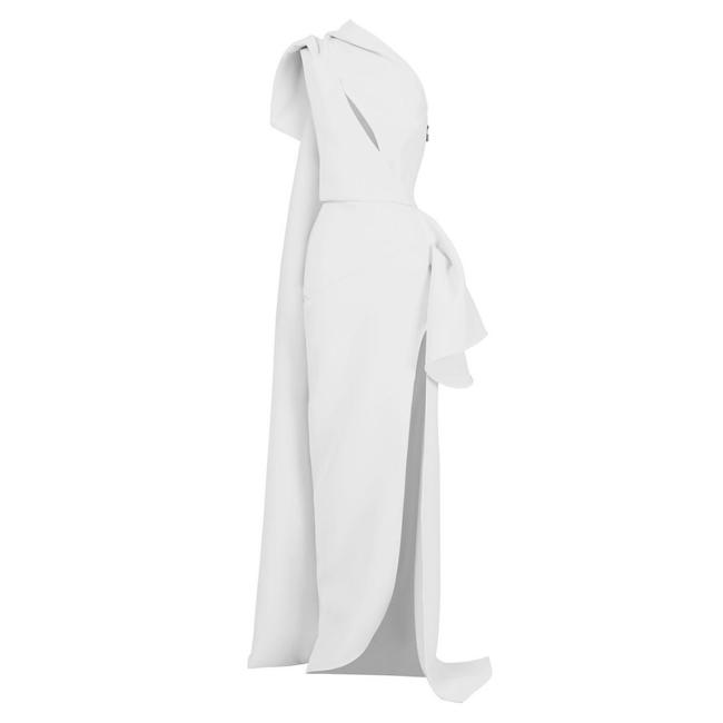 Item - One Shoulder Butterfly Gown Au 8 (Us 4) Casual Maxi Dress