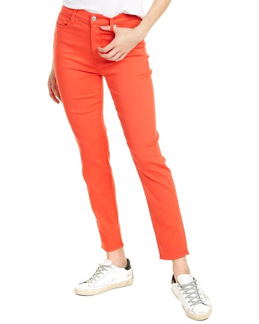 Item - Red High-rise Ankle Leg Au8229399 Skinny Jeans