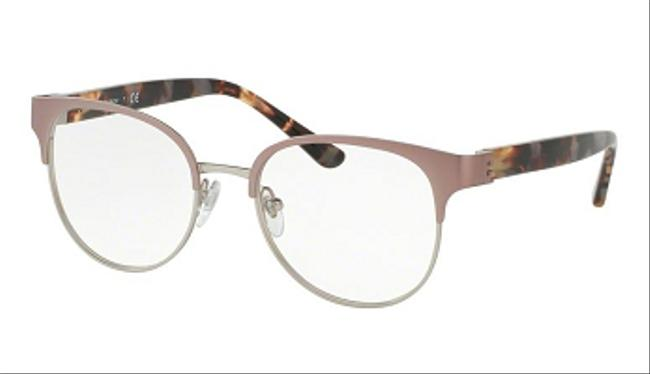 Item - Round Metal Women Pink / Clear Lens Sunglasses