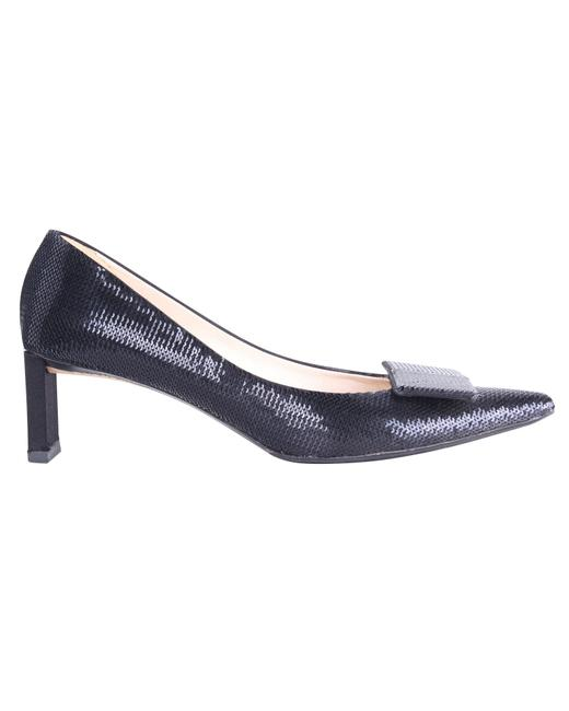Item - Black Sequins Low Pumps -pre Owned Condition Very Good Formal