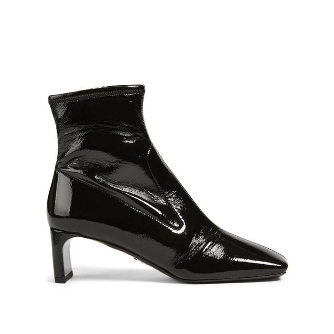 Item - Тechnical Patent Leather Ankle Boots/Booties