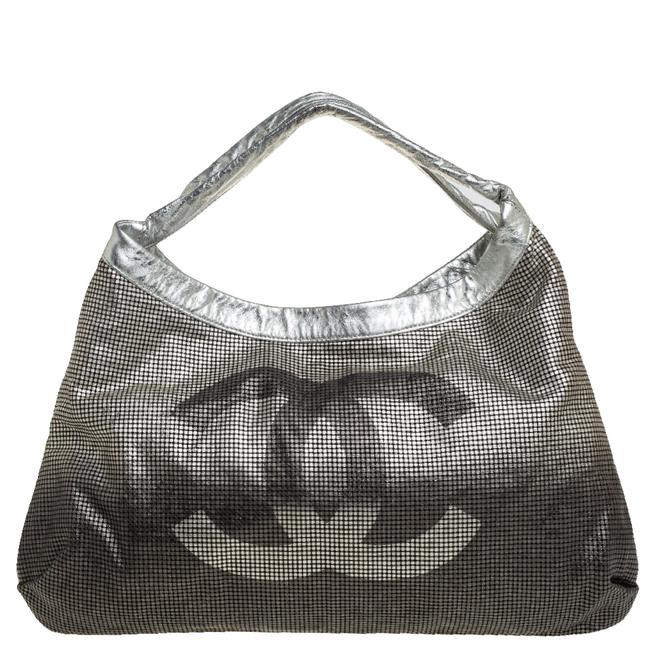 Item - Ombre Metallic Leather Hollywood Cc Hobo Bag