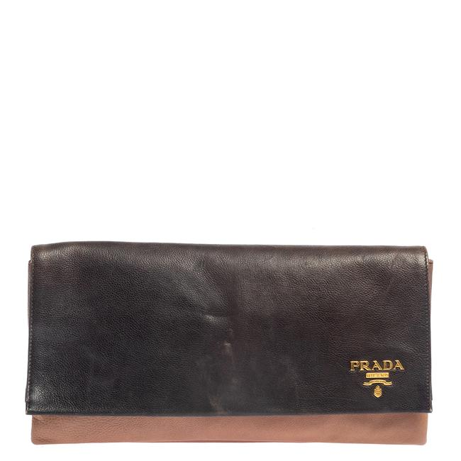 Item - Ombre Leather Flap Clutch